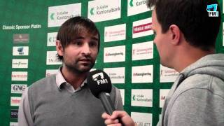 Roman Wild vor dem Spiel FC Schaffhausen gegen FCSG