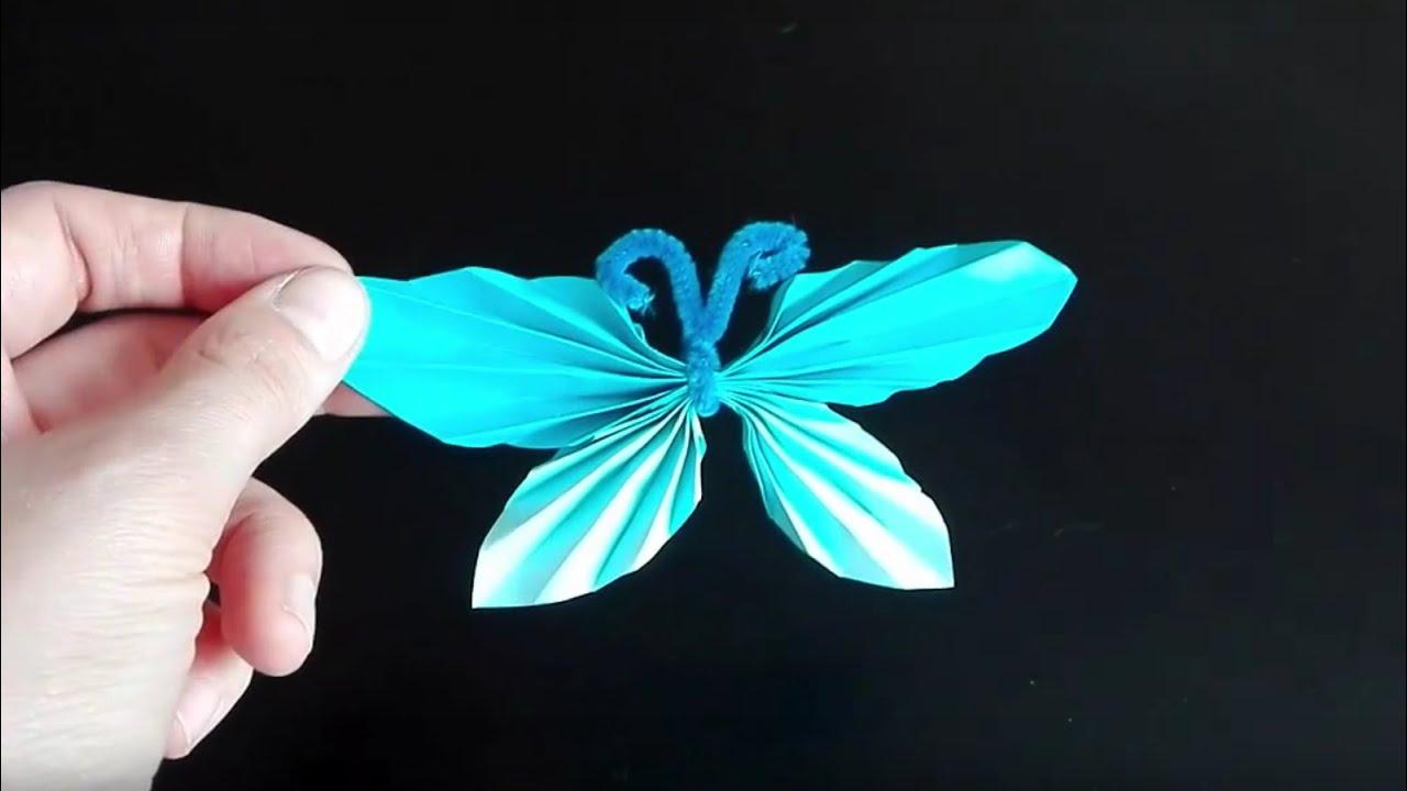 Jak zrobić motylka z papieru - origami