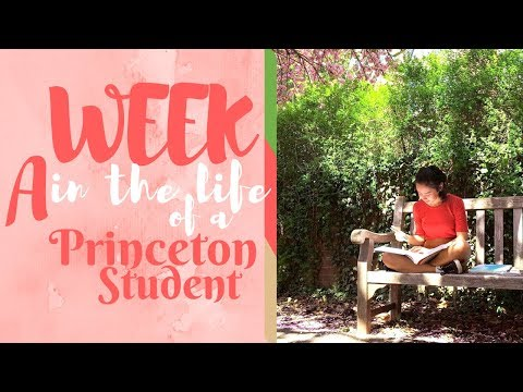 A Week in the Life of a Princeton University Student