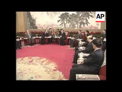 President meets Shanghai Group ministers