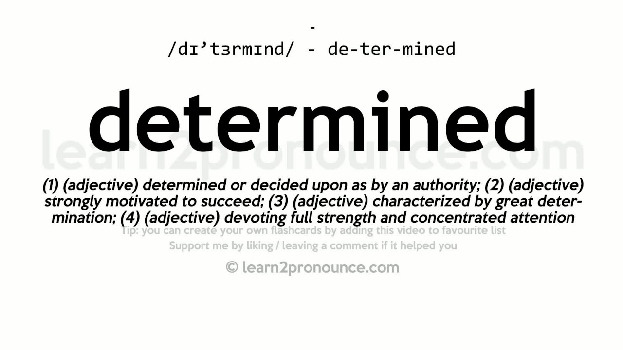 Determined pronunciation and definition youtube for Meaning of terrace in english
