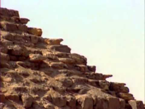 Las bóvedas en saledizo de las pirámides egipcias