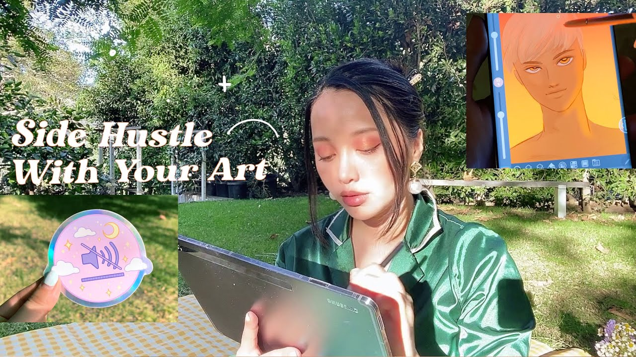 How To Side Hustle With Your Art