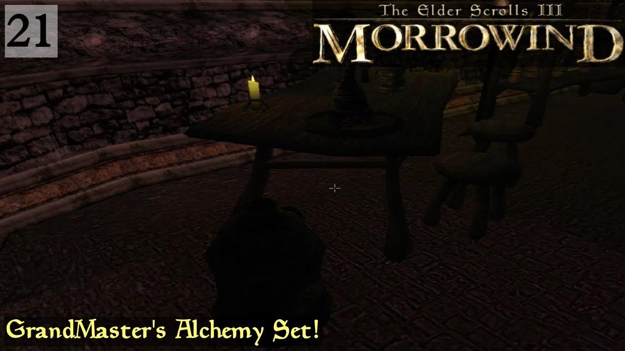 Morrowind | Episode 21 - GrandMaster's Alchemy Set!