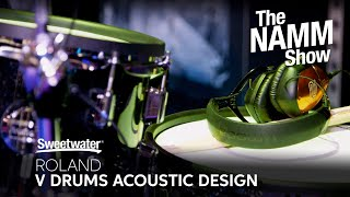 Roland V-Drums Acoustic Design Series at Winter NAMM 2020