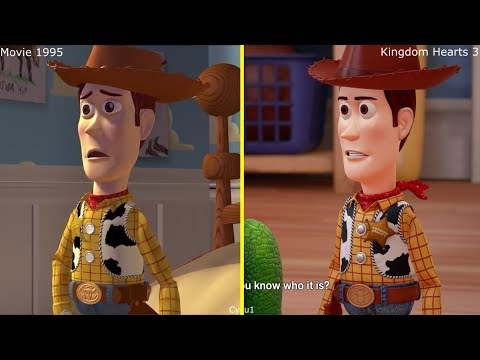 Thumbnail: Kingdom Hearts III - Toy Story Game 2017 vs 1995 Movie Comparison
