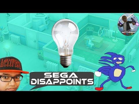 Sega Disappoints yet again...