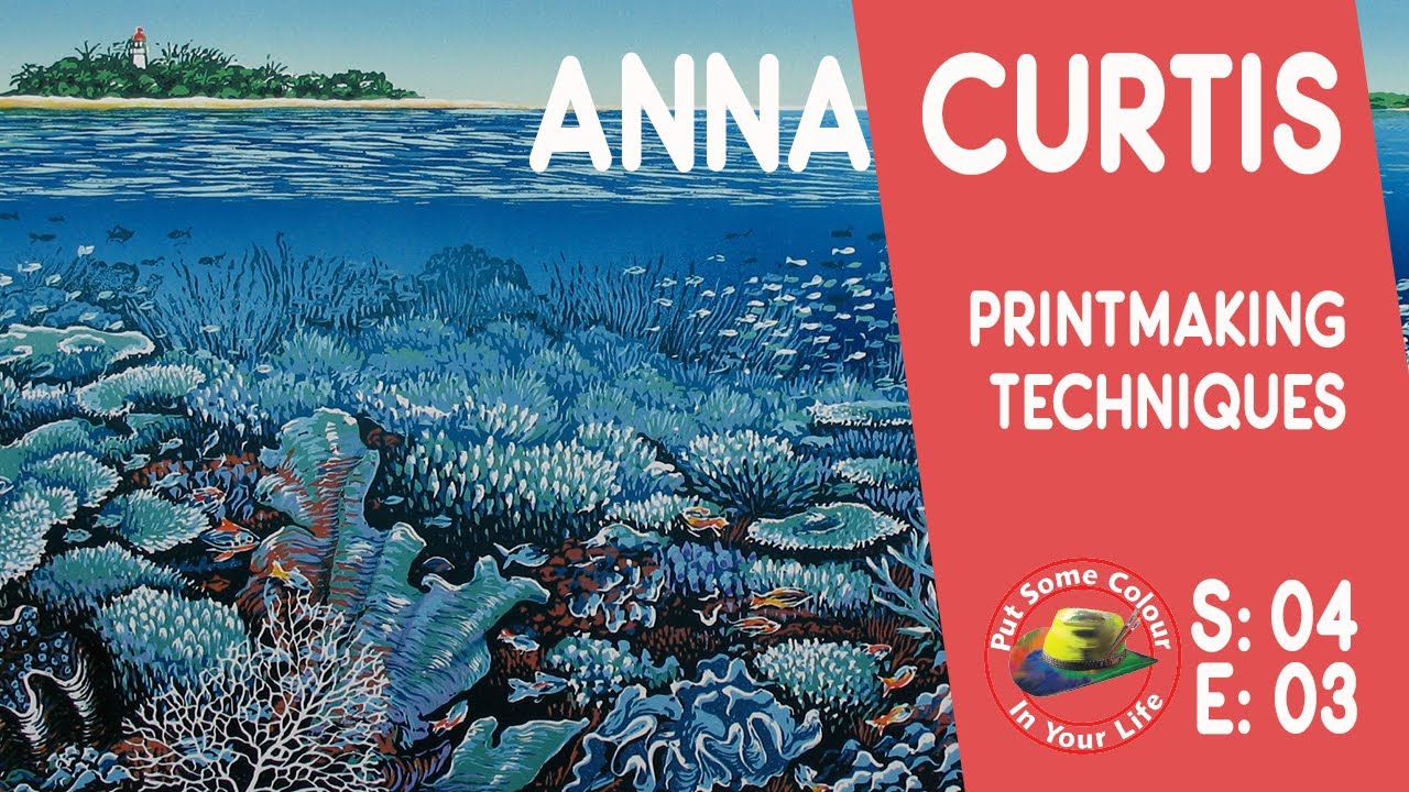 Art tips with a Free Lino Print Art Lessons with Anna Curtis on ...