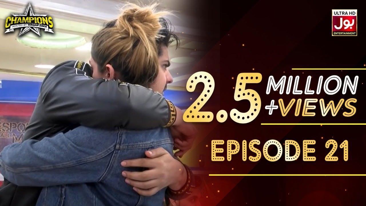 Champions With Waqar Zaka Episode 21 | Champions BOL House | Waqar Zaka Show