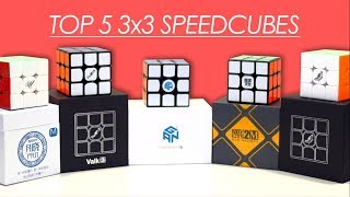 Top 5 3x3 Speedcubes | 2018