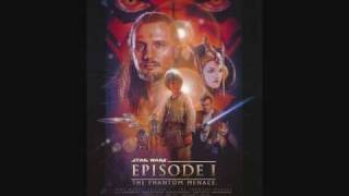 Star Wars Episode 1 Soundtrack- The Arrival At Tatooine And The Flag Parade