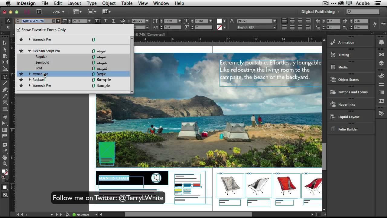 Adobe InDesign CC 2018 13.0.1.207