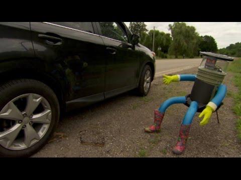 HitchBOT the hitchhiking robot