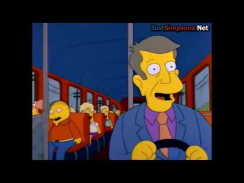 The Simpsons - Hail To The Bus Driver