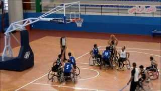لقطات من البطولة الوطنية لكرة السلة على الكراسي