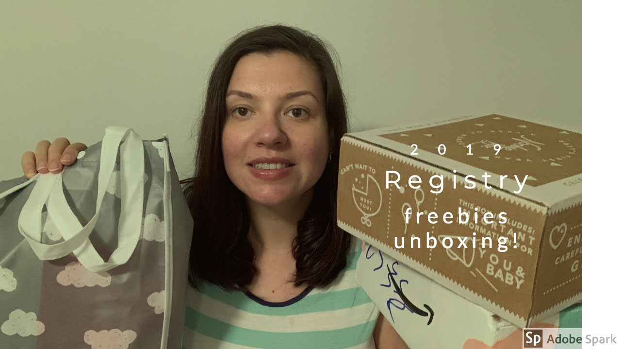 Unboxing Target, Amazon and Noobie Baby Registry Boxes ...