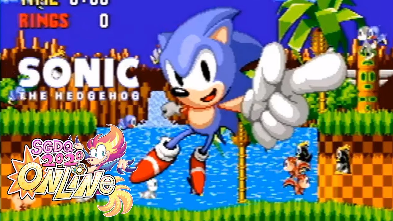 Sonic the Hedgehog by t20uchan in 2020   Summer Games Done Quick 220220 Online
