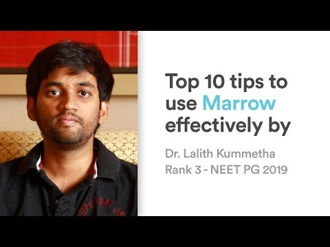 Top 10 tips to use Marrow effectively by Dr Lalith Kummetha