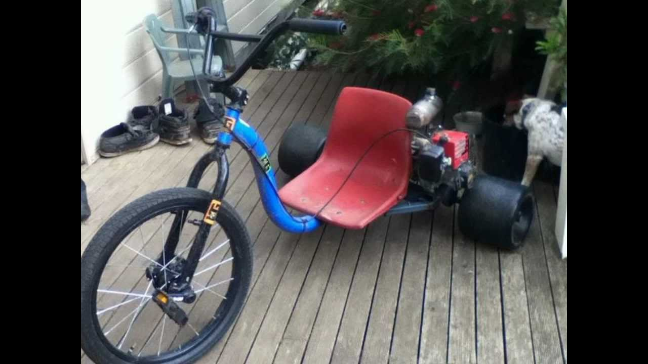 motorized huffy slider 49cc drift trike youtube. Black Bedroom Furniture Sets. Home Design Ideas
