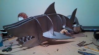 Diy Cardboard Shark