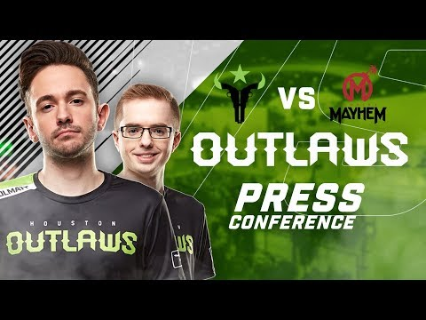 Houston Outlaws Press Conference Stage 3 Week 3 (Florida Mayhem)