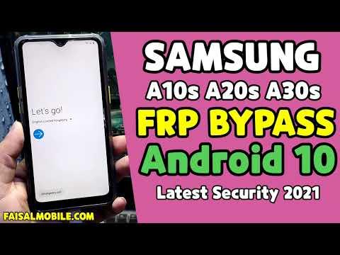 Samsung Frp Android 10 / A10s, A20s, A30s, A40s, A50s, A70s / Google Account Bypass Final Method
