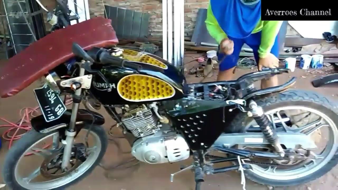 Membangun Motor Japstyle Basic Motor Suzuki Thunder N 125 Part 1