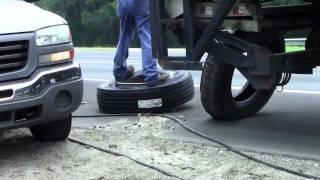 Tire Trouble - WinShape C3 Tour #3