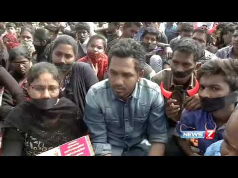 Coimbatore Jallikattu protest reached next level: Hiphop Thamizha Aadhi | News7 Tamil