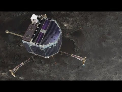 Rosetta spacecraft wakes up after three years and sends message to Earth