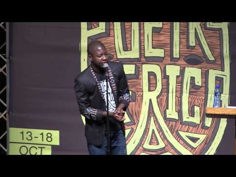 Q Malewezi at POETRY AFRICA 2014