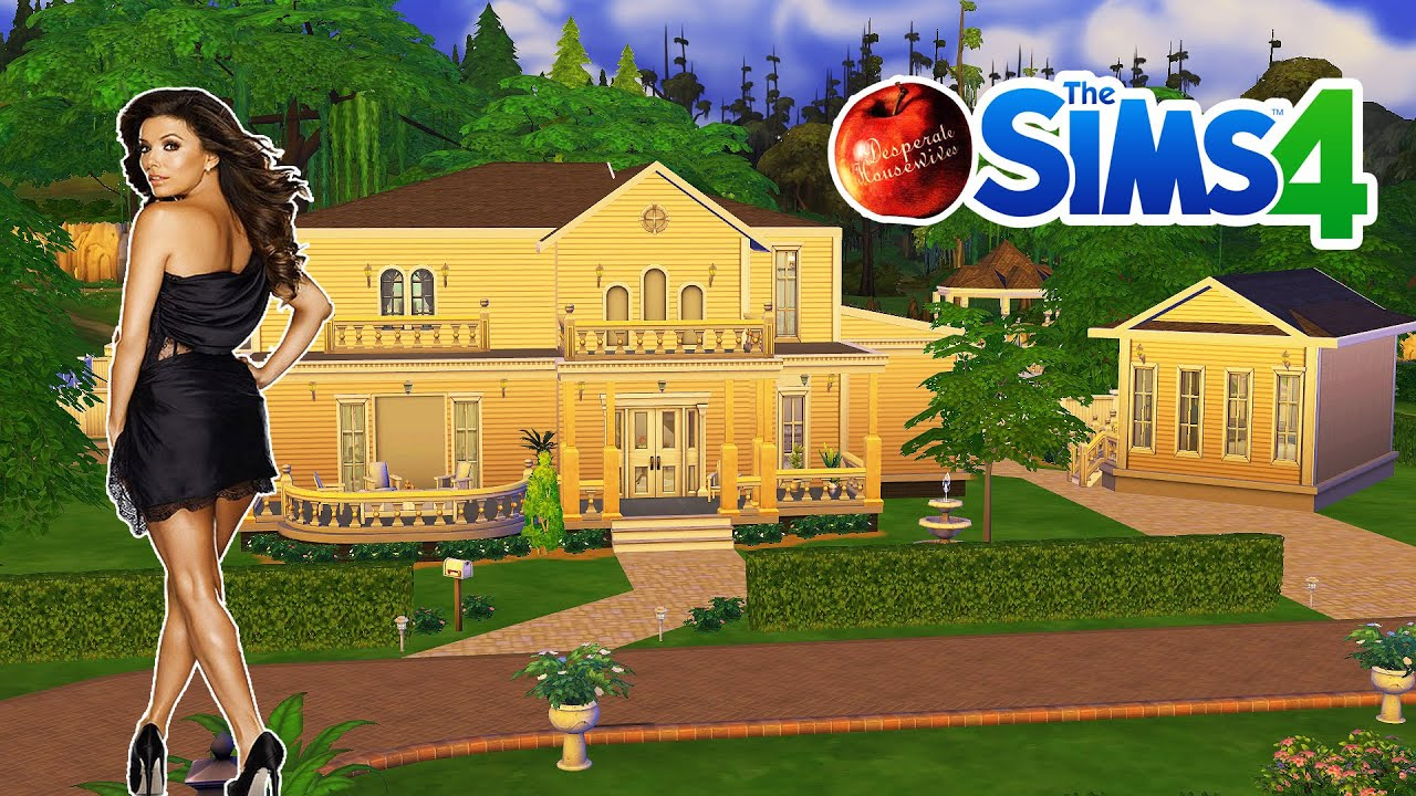 D co co sims 4 maison des solis desperate housewives for Construire une maison les sims 4