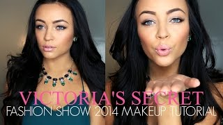 Victoria's Secret Fashion Show 2014 Makeup Tutorial ♡ Thumbnail