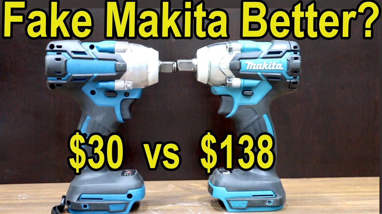 Fake Makita Impact Better? Let's find out!  Makita XWT11Z 18V LXT Lithium-Ion Brushless Cordless