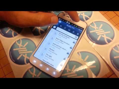 Frostwire For Android Filtering Shared Files