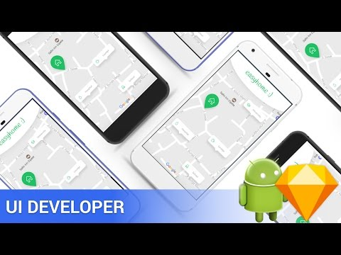 7 Minutes UI Design to Android XML Tutorial [Free Assets]