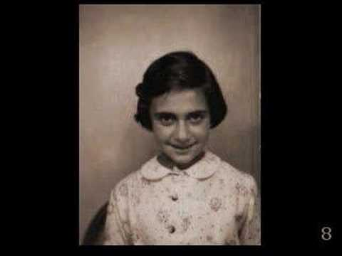 Margot Frank Growing Up Silent Slideshow Youtube