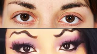 Women Try Squiggle Eyebrows