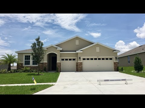 Camden Model With Inlaw Suite In Clermont FL - YouTube