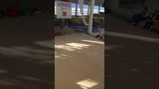 Спортивная гимнастика.Кристина Бондаренко.Вольные упражнения