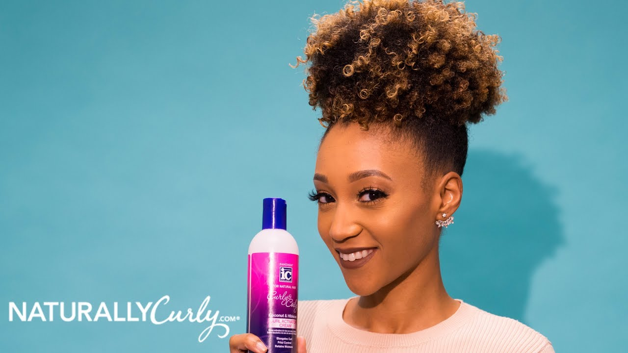 Modelesque Nic S High Puff Style Fantasia Curly Coily