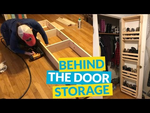 Behind the Door Storage