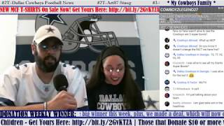 """COWBOYS CHAT """"FRIDAY FUNDAY"""": General Talk PLUS A Preview For The Big """"GM"""" Live Stream After This!!!"""
