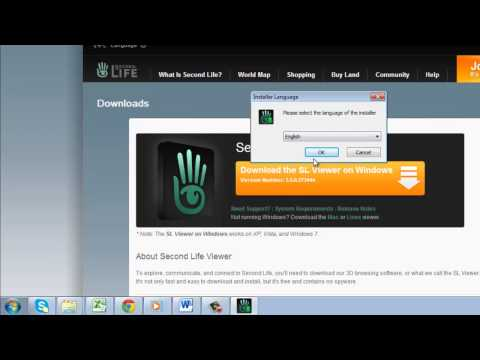 How To Download Second Life
