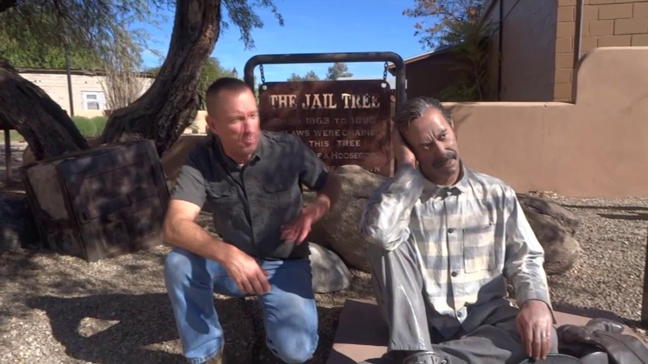 The Wickenburg Arizona Jail Tree