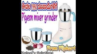 Pigeon mixer grinder