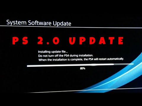 PS4 New Software Update 7.02 | PS4 7.02 System Software Update Install In 5Min