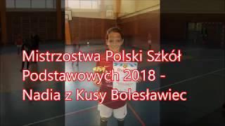 CZ4-Mistrzostwa Polski Szkół Podstawowych-I Etap Nadusia z Kusym o Mistrza Miasta-Dziewczynki-II Poł