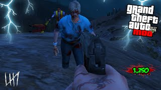 GTA 5 PC Mods - HIGH ROUND ZOMBIE MOD GAMEPLAY! GTA 5 Zombie Mods & Funny Moments! (GTA V PC)