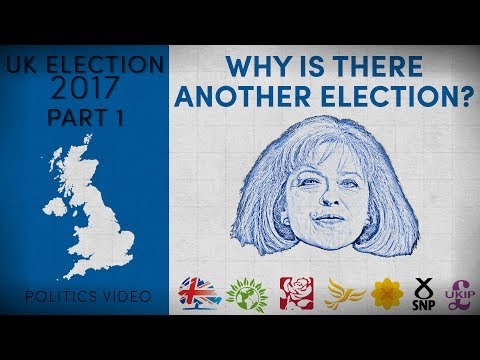 UK Election 2017 — Part 1 — Why Is There Another Election?